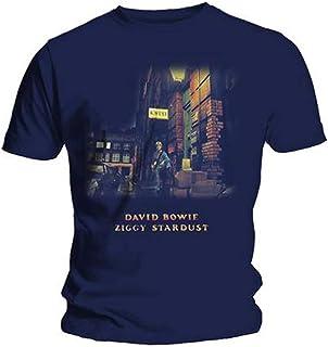 cfc1ac6969 David Bowie Men's Ziggy Stardust Short Sleeve T-Shirt