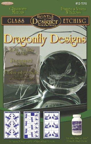 Armour Etch 12-7022 Designer Stencil Pak Design Elements