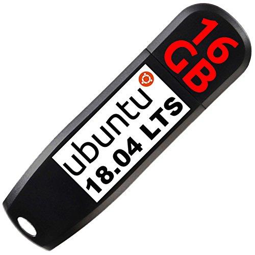 Ubuntu 18.04 LTS 64bit auf 16 GB USB 3.0 Stick