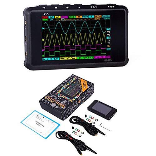 SHIJING Mini DSO 4-Kanal 100MS / S DSO213 Nano-Quad-Digitaloszilloskop-Update im Taschenformat von DS203 DSO203 DS212 DSO212,2