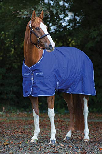 Horseware Amigo Hero 900 D lite 0g Atlantic Blue Regendecke (125)