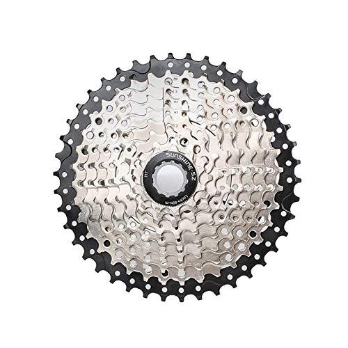 CLOUDH 9 Speed Cassette, 11-42T de Bicicletas de Montaña del Volante, Las Partes Modificadas Adecuadas para MTB, BMX Shimano (M370, M390, M430, M2000, M4000, DEORE M530) SRAM (X5, X7)
