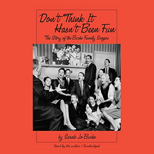 Don't Think It Hasn't Been Fun audiobook cover art