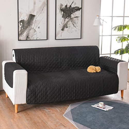 Fundas para sofá Muebles,Fundas de sofá acolchadas de 1/2/3 plazas, para perros, mascotas, niños, fundas antideslizantes para sofá reclinable, protector de muebles para sillón-08_Una plaza 55x19