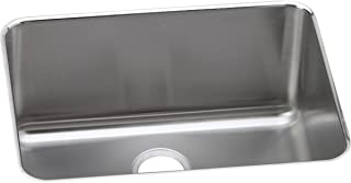 Elkay ELUH231710 Lustertone Classic Single Bowl Undermount Stainless Steel Sink