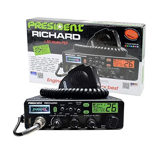 President Richard 10 Meter Ham Radio, 50W PEP
