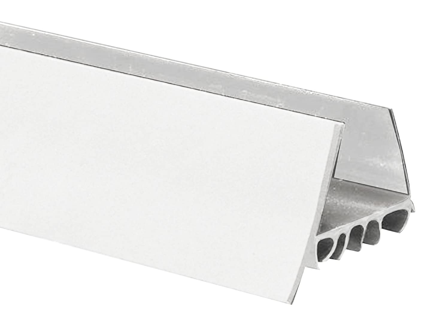Frost King UDB77W Thermoplastic Slide-On Door Bottom, 1-3/4In Wide x 36In Long, White
