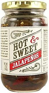 Trader Joe's Hot & Sweet Jalapenos 12 oz (Pack of 3)