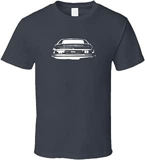 1993 Toyota MR2 Rear View Faded Look Dark T Shirt