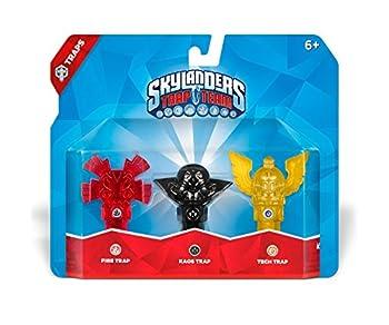 Skylanders Trap Team  Triple Trap Pack  Fire Kaos Tech