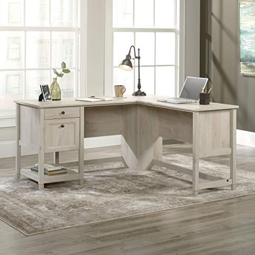 Sauder Edge Water L-Shaped Desk, L: 59.06