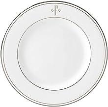 Lenox Federal Platinum Block Monogram Dinnerware Salad Plate, F