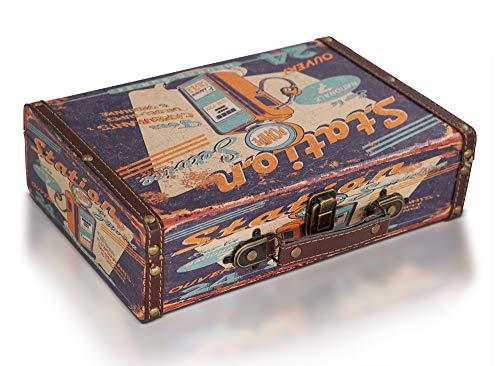 Brynnberg Caja de Madera 30x20x8cm - Cofre del Tesoro Pirata