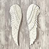 The Lakeside Collection Heavenly Angel Metal Wings - Religious Hanging Wall Decor - 2 Pieces