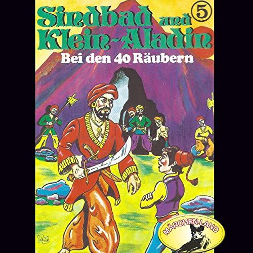 Bei den 40 Räubern cover art