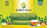 Buddha's Herbs Premium THROAT RELAX Herbal Tea - Supports Throat Health -Caffeine Free (2 Pack (44...
