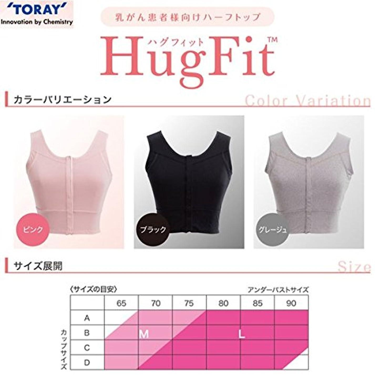 凍る考古学的な欺くハグフィット HugFit ピンク Lサイズ 東レ?メディカル