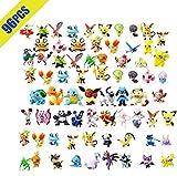 OMZGXGOD Pokemon Figuras ,Mini Figuras de plástico tamaño pequeño Regalo,La Figura de Pokémon...