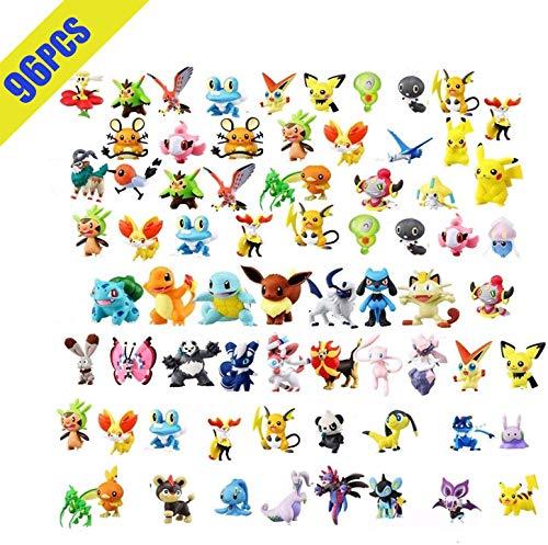OMZGXGOD Pokemon Figuras ,Mini Figuras de...
