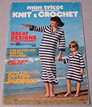 Mon Tricot Knit & Crochet Monthly Magazine #MD32 5/76