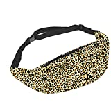 Dadidyc Sexy Animal Leopard Print Fanny Pack, Belt Bag for Women | Stylish, Practical, Minimal Hip Bag | Fits Phone, Wallet with Zipper