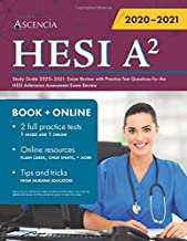 HESI A2 Study Guide 2020-2021: Exam Review with Practice Test Questions for the HESI Admission Assessment Exam Review PDF