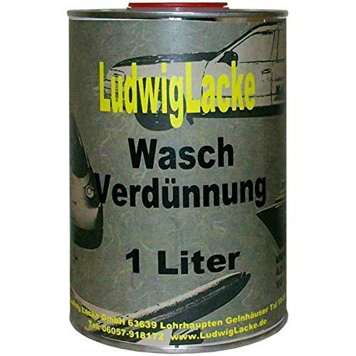 Waschverdünnung 1Liter Nitroverdünnung säubern Autolack Pinselreiniger