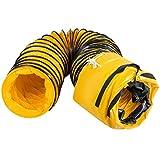 4 pulgadas conducto de ventilaci/ón Invero/® 90 grados pl/ástico PVC Codo redondo de 100 mm