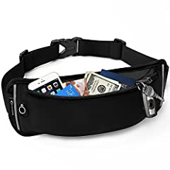 【Big pocket to hold all your essentials】Our workout fanny pack has 4CM WIDTH EXTEND's design for hikers waist pack for women & men makes this cycling fanny pack has a larger pocket to carry your essentials like credit cards, IDs, single keys, small w...