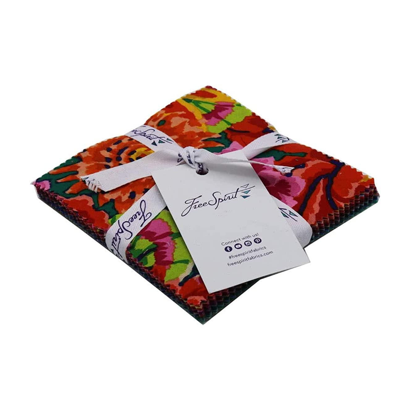 Kaffe Fassett Collective Fall 2018 Night 5 Inch Charm Pack 42 Five Inch Squares