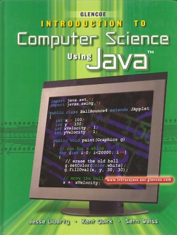 Introduction to Computer Science, Using Java, Student Edition (HS Intro to Comp Java)