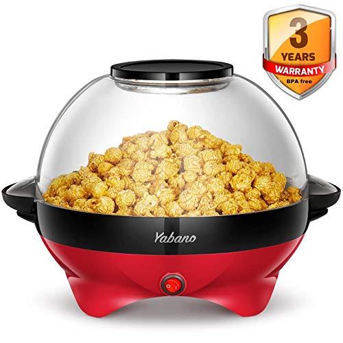Yabano Machine à Popcorn Électri...