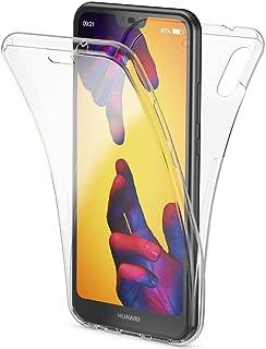 Ukayfe Coque Glitter Diamant Strass Compatible avec Huawei P20 Lite PU Cuir Portefeuille Hibou Housse Etui de Protection Magn/étique avec Fente pour Carte Anti Choc Cover Case for Huawei P20 Lite-Rosa