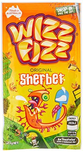 Fyna Foods Wizz Fizz Original Sherbet, 50 x 12.5 Grams