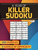 A Year of Killer Sudoku — 365 Puzzles, 5 Levels of Difficulty: No 1