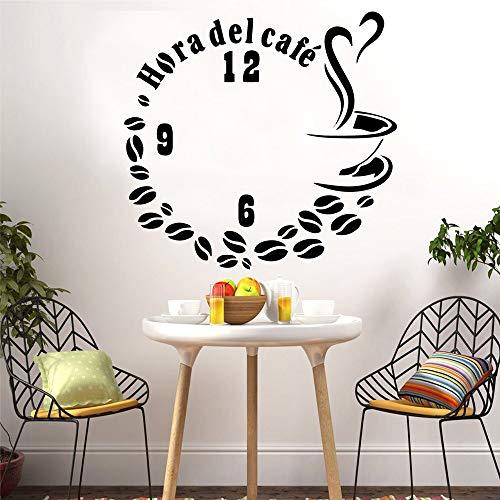 Yaonuli creatieve koffiemuurstickers decoratie vinyl stickers decoratie keuken ideeën