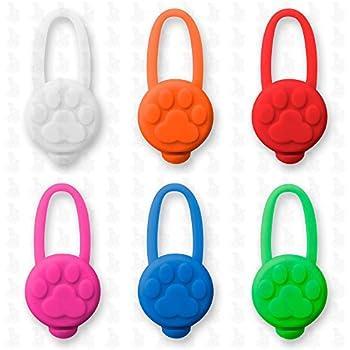 pendentif lumineux pour chien - collier lumineux Led , collier pour chien LH10 - Médaille LED de Leuchthund® Pendentif Led (rouge)
