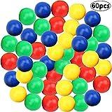 BETOY 60 Piezas de Canicas de Reemplazo de Juego de Bolas de Reemplazo de Juego Compatibles con Hipopótamos Hambre Hambre