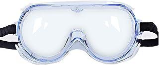 Saniswink Anti-virus beschermende bril, fietsbril, stofdicht, winddicht en mist-proof bril, spatwaterdichte bril, unisex