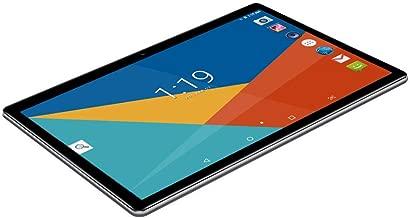 Tablet 10 Pulgadas Fire HD| 10.1''Tablets PC(3G, WiFi, Octa Core, 4 GB de RAM, 64 GB de ROM, Android 7.0, GPS, GMS, Dual SIM Card ), Black
