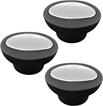 Universal Pot Lid Replacement Knobs Pan Lid Holding Handles (3 Pcs) black