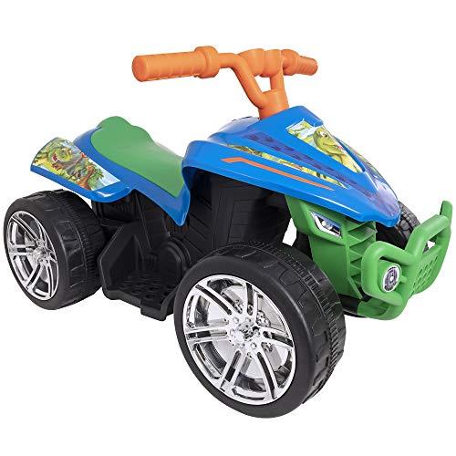 EVO 6V Battery Powered Kids Electric Ride On Dinosaur Quad Bike | Dino Adventure Ride On, Ages 3+