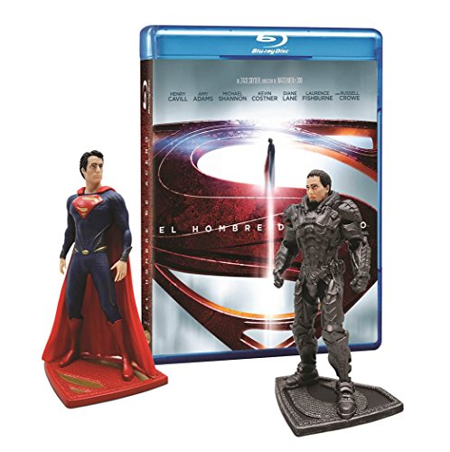 Man Of Steel [Blu-Ray + DVD + Figuras Superman y Zod]