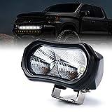 Xprite 10W CREE LED Flood Light for Off-road Vehicles Pickup Truck UTV ATV Motorcycle - 1 PC