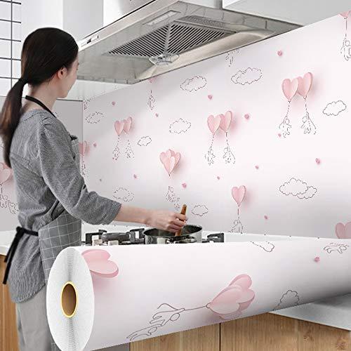ZuanYi Multifunktions Wallpapers Aluminiumbeschichtung wasserdichte Wohnzimmer Möbel Desktop Vinyl Selbstklebende Kontakt Papier Home Decor 500 cm x 60 cm Einfach und schön