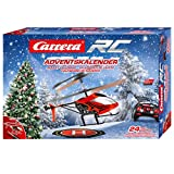 Carrera RC 370501042 Advent Calendar-2,4 GHz Helicopter, Rot -