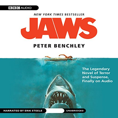 Jaws audiobook cover art