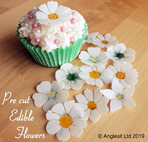 EDIBLE WAFER PAPER CUP CAKE PARTY TOPPERS DECORATIONS PRE-CUT EASTER MIX I