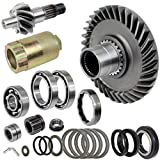 Caltric Complete Rear Differential Kit for Honda Trx300Fw Fourtrax 300 4X4 1988-2000