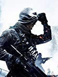 WOAIC Call of Duty Ghosts Soldier Poster for Bar Cafe Home
